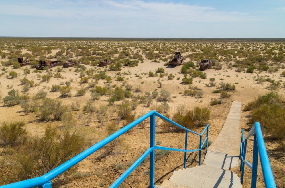 Que devient la mer d'Aral ?